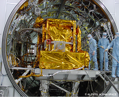 IASI in the vacuum chamber